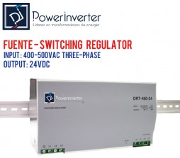 FUENTE DE PODER - SWITCHING POWER 380VAC /24VDC 40A (960W)