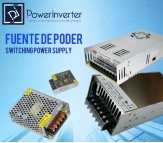 FUENTE DE PODER - SWITCHING POWER 110-220VAC /12VDC  10A (120W)