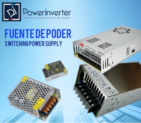 FUENTE DE PODER - SWITCHING POWER 110-220VAC /24VDC 5A (120W)