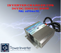INVERTER CHARGER UPS MODIFIED 24VDC/220VAC 500W